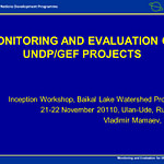 Projects Monitoring & Evaluation Unit 2020 Recruitment