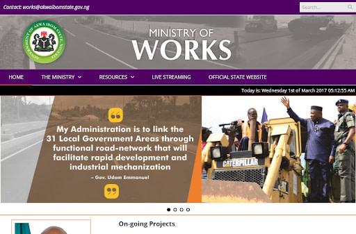Akwa Ibom Ministry of Works Recruitment 2020