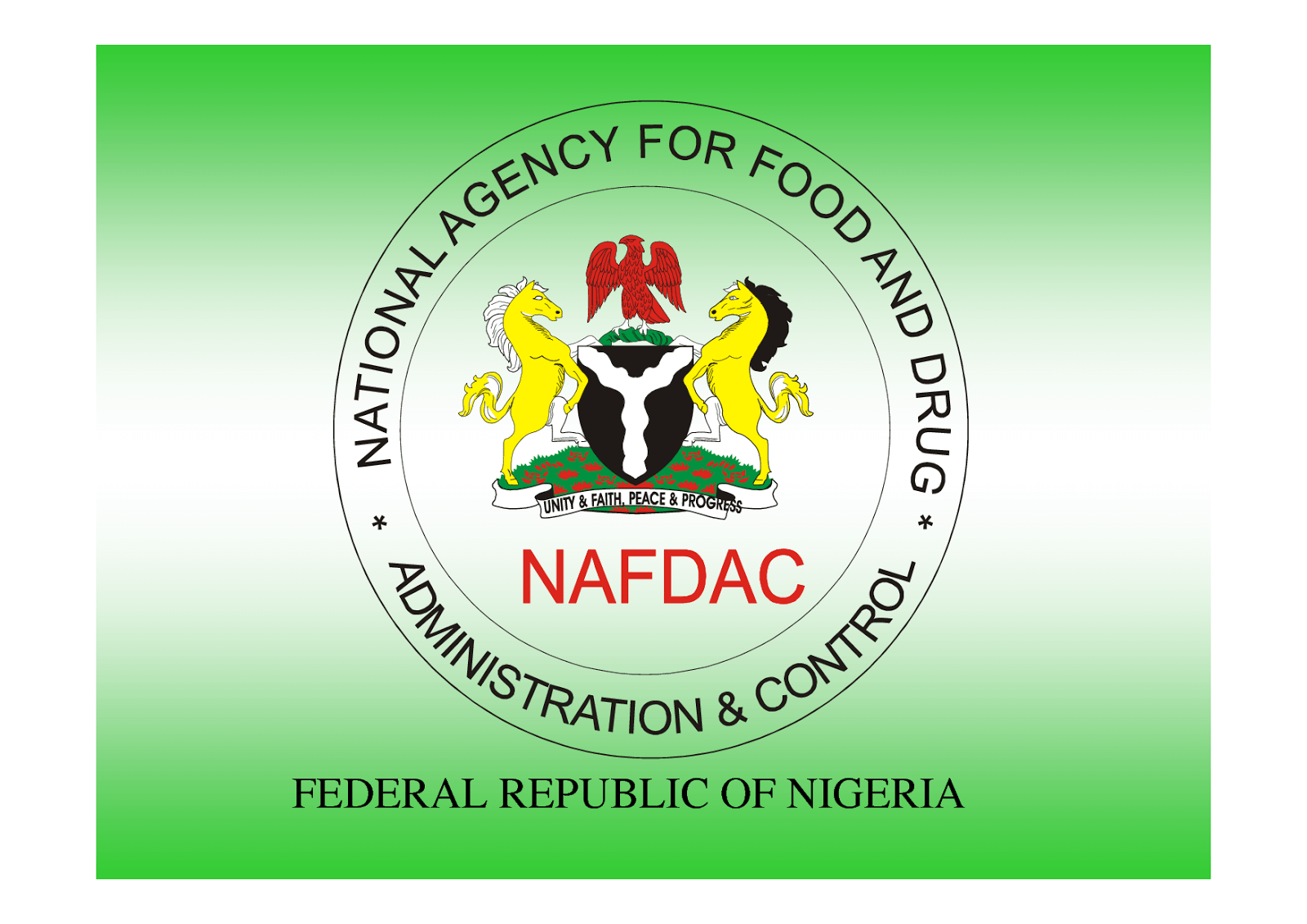National Agency For Food And Drug Administration And Control (NAFDAC)Has Successfully Commenced Recruitment