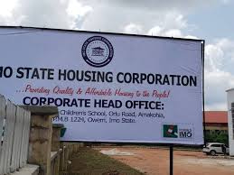 Imo State Housing Corporation Recruitment 2020….APPLY NOW